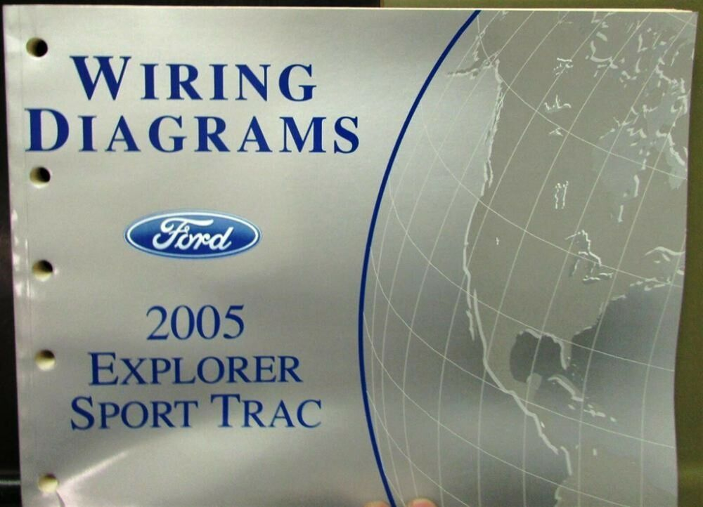 2005 Ford Dealer Electrical Wiring Diagram Service Manual