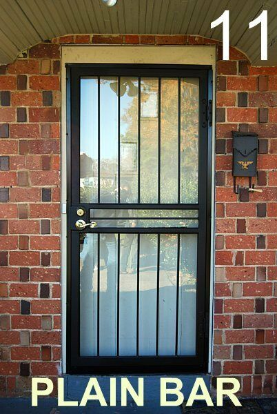 Replacement Glass For Old Wrought Iron Security Doors