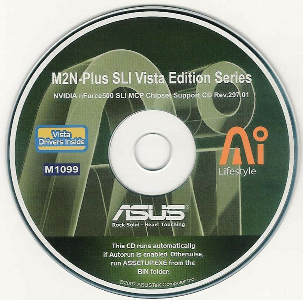 Download Drivers: Asus M2N-PLUS SLI VISTA EDITION NVIDIA nForce