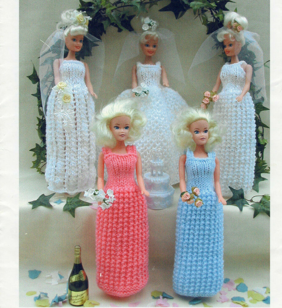 Free Sindy Doll Knitting Patterns : SINDY DOLL WEDDING OUTFITS TO KNIT eBay