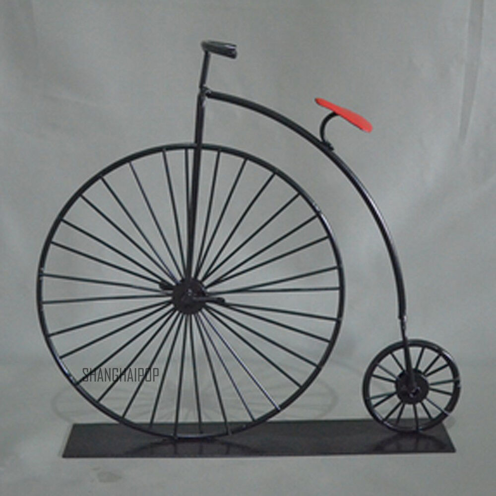 Metal model bicycle bike table ornament home decor craft for Bicycle decorations home