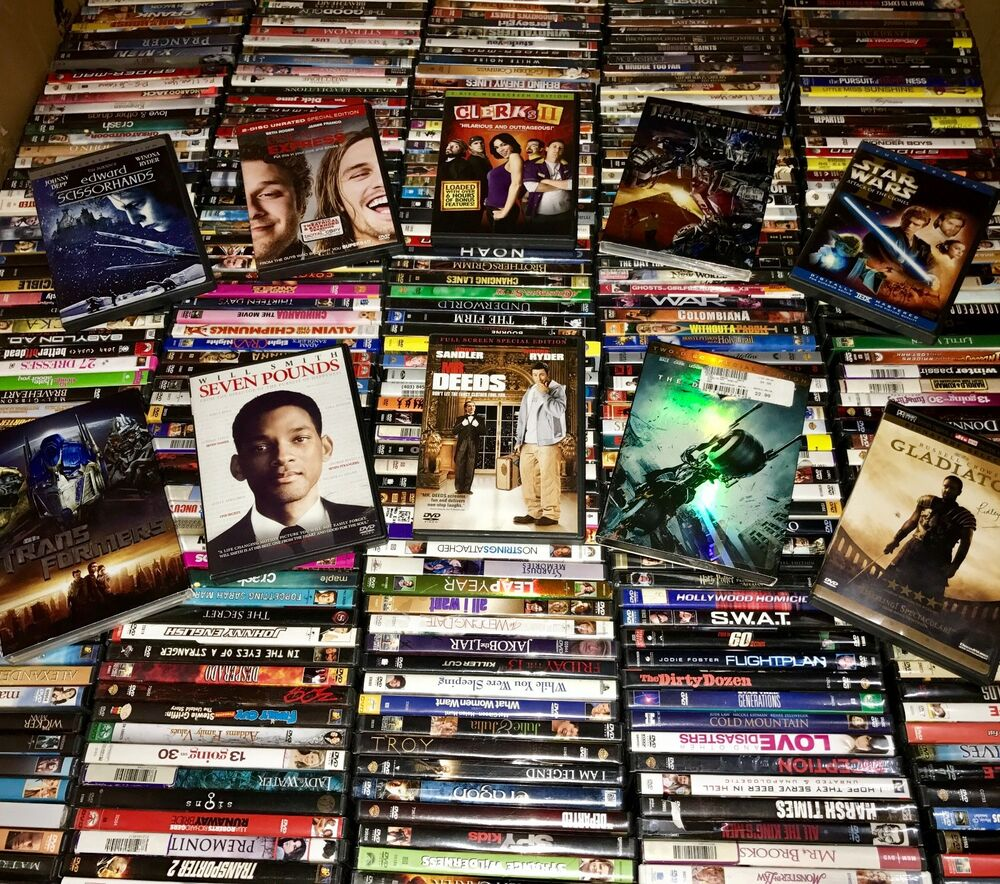 200 DVD Wholesale Assorted Lot! Best Variety & Price For