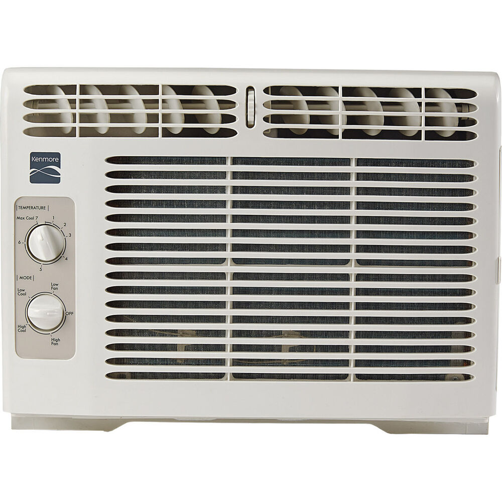 Kenmore 87050 5 000 btu 115v window mounted mini compact for 115v window air conditioner with heat