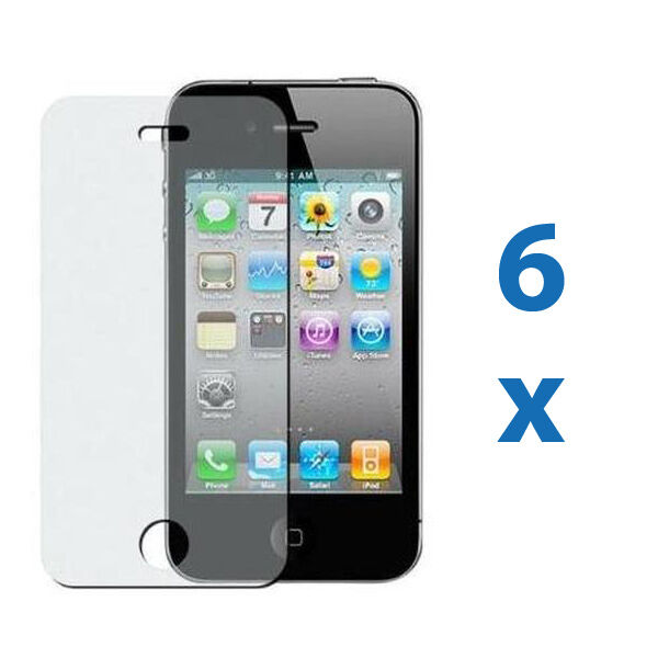 iphone 4 screen protector 6 iphone 4 4g 4s anti glare matte screen protector cover 14400