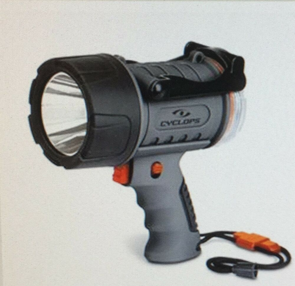 Stanley 5 Watt Led Rechargeable Spotlight: CYCLOPS RECHARGEABLE 3 WATT LED WATERPROOF SPOTLIGHT