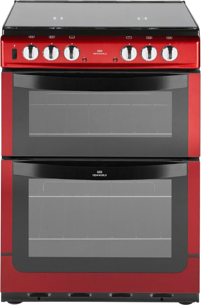 New World 601dfdol 60cm Free Standing Double Dual Fuel