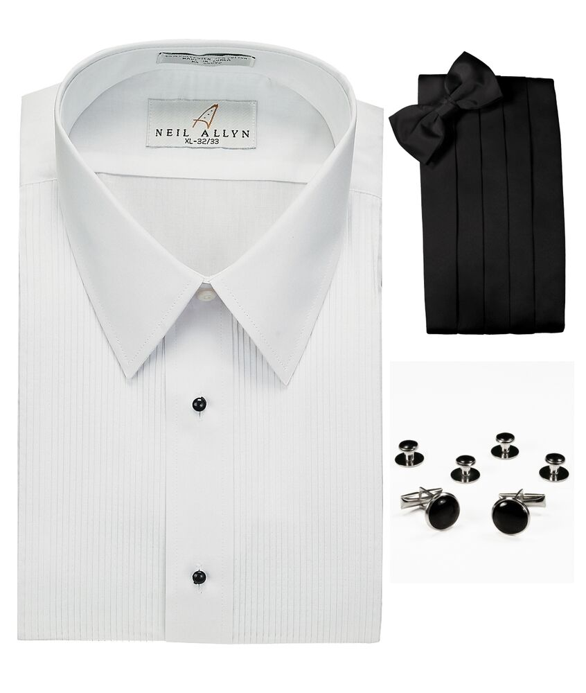 White French Cuff Shirts For Men