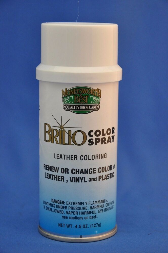 Moneysworth Amp Best Brillo Leather Vinyl Color Spray Paint