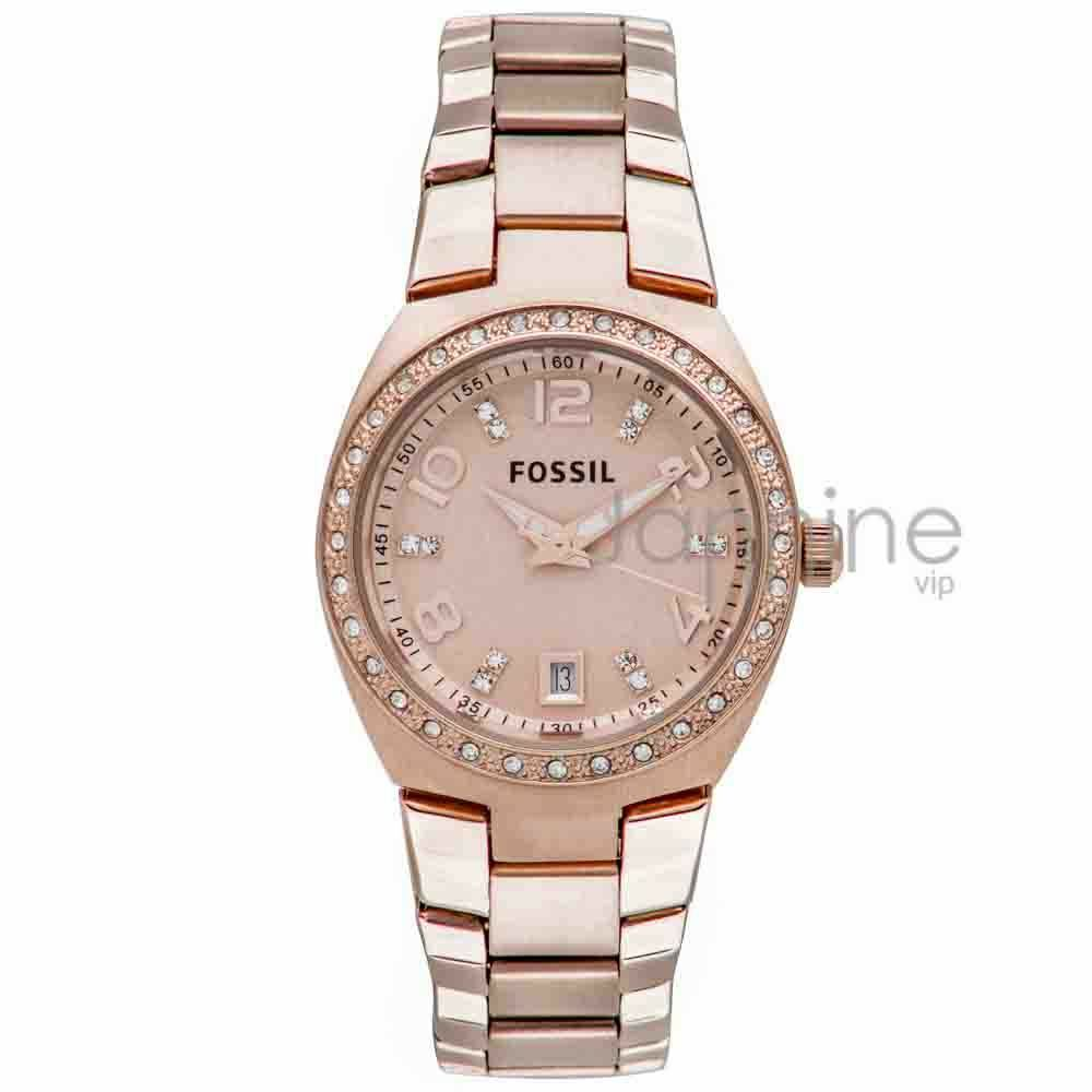 Fossil Authentic Watch Women's AM4508 Rose Gold 28mm ...