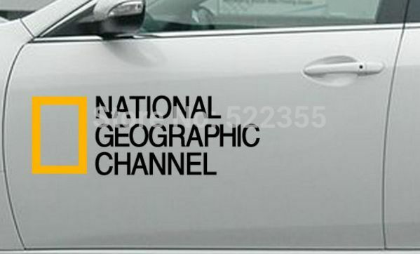 Fj Cruiser Sticker >> National Geographic Logo Sticker Car Door Graphic Decal Color | eBay
