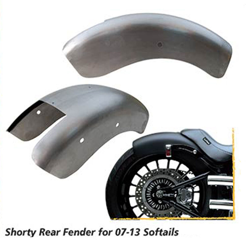 REAR FENDER FOR HARLEY SOFTAIL MODELS 07 13 BOBBER CHOPPER EBay