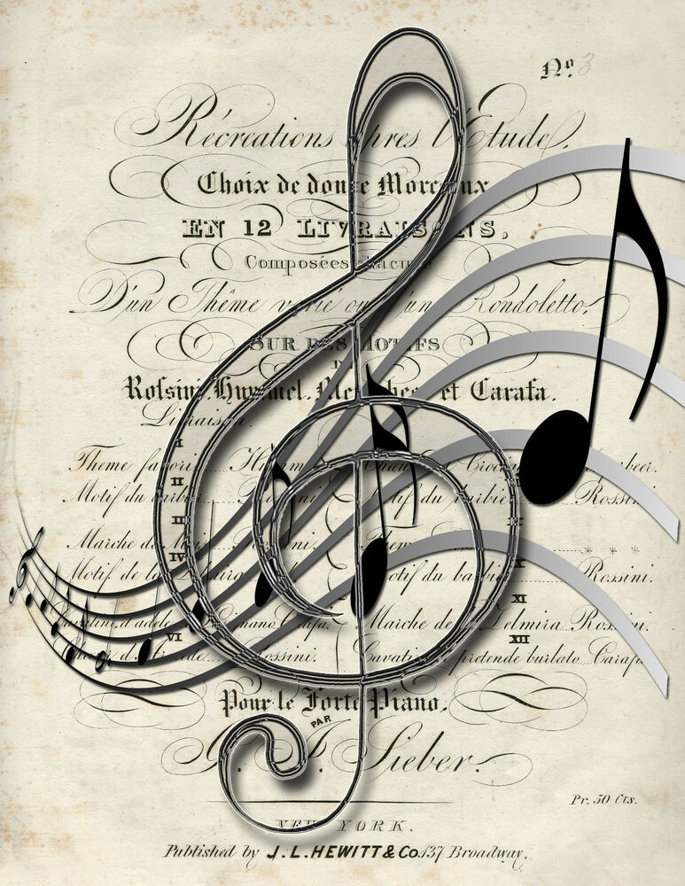 Priceless image for large printable music notes