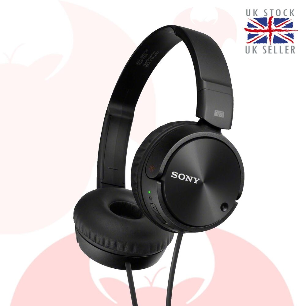Sony Headphones MDR-ZX110NC Overhead Noise Cancelling ...