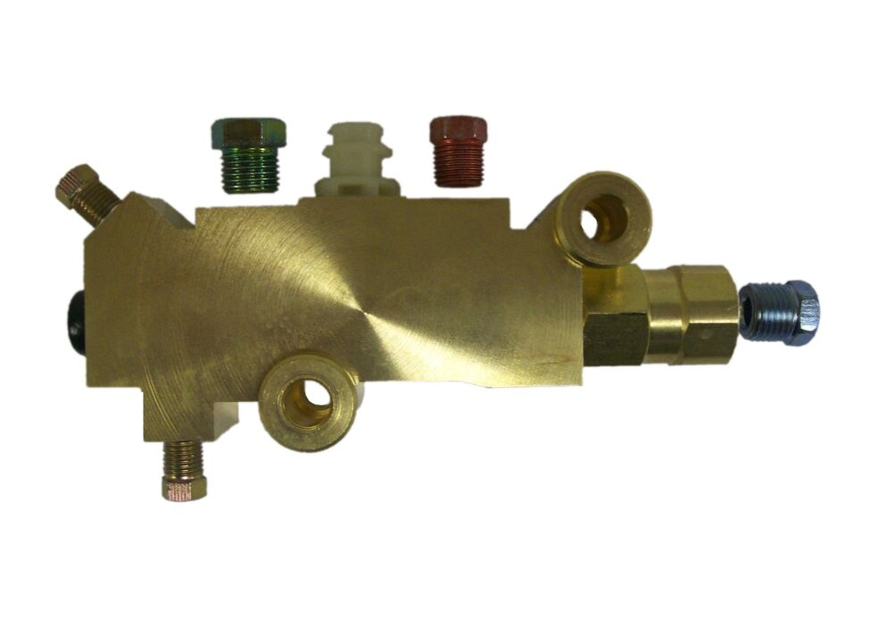 Proportioning valve Universal Brass disc/ drum w. fitting ...