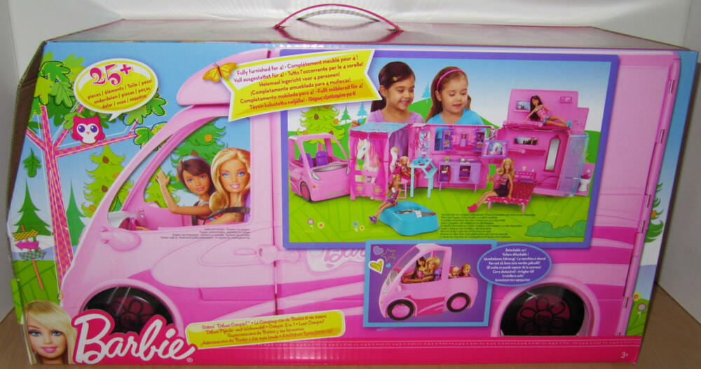 x8410 deluxe pferde wohnmobil barbie und ihre schwestern. Black Bedroom Furniture Sets. Home Design Ideas