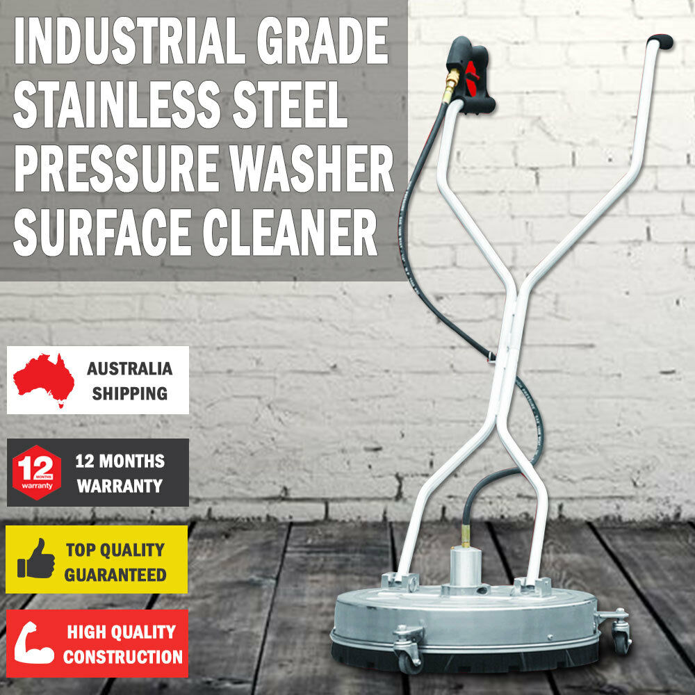 Industrial Grade Stainless Steel Pressure Washer Surface