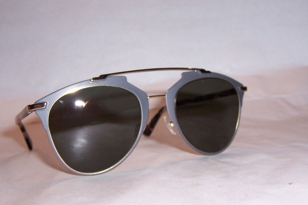 0bd4350fe6 NEW CHRISTIAN DIOR REFLECTED S PRE-70 GRAY HAVANA BROWN SUNGLASSES  AUTHENTIC