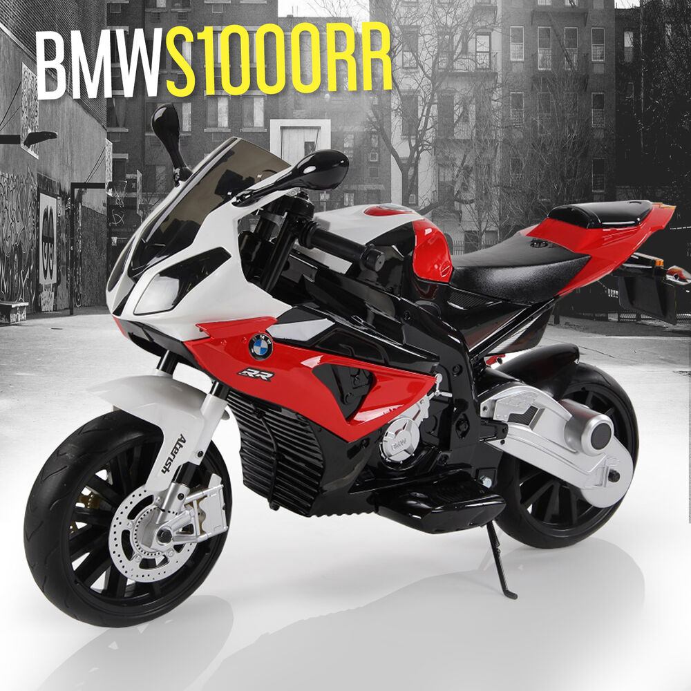 bmw s1000rr motorbike electric ride on 12v kids bike. Black Bedroom Furniture Sets. Home Design Ideas