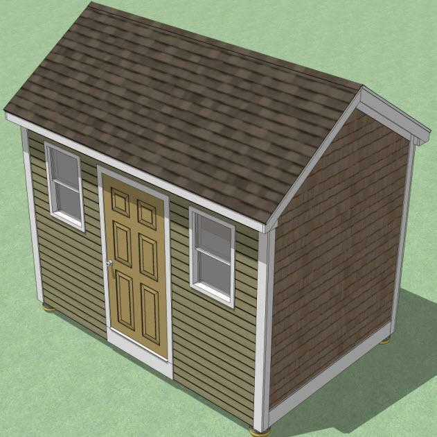 8x12 shed plans how to build guide step by step for Rv storage building plans free
