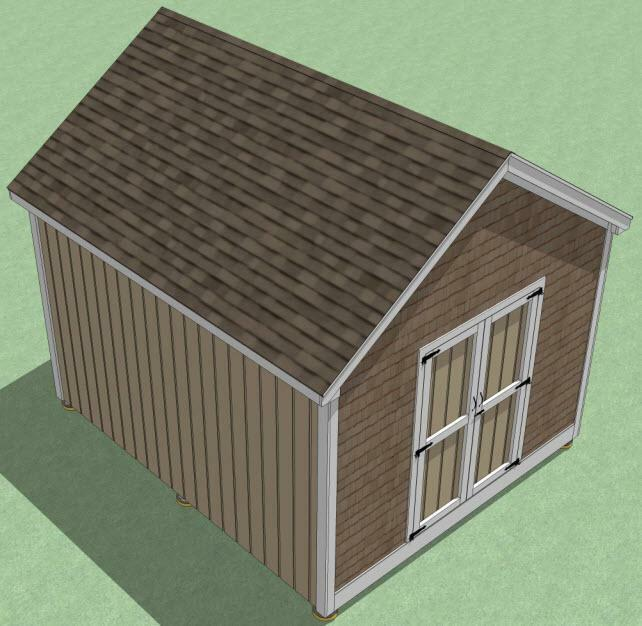 12x14 shed plans how to build guide step by step for Rv storage building plans free