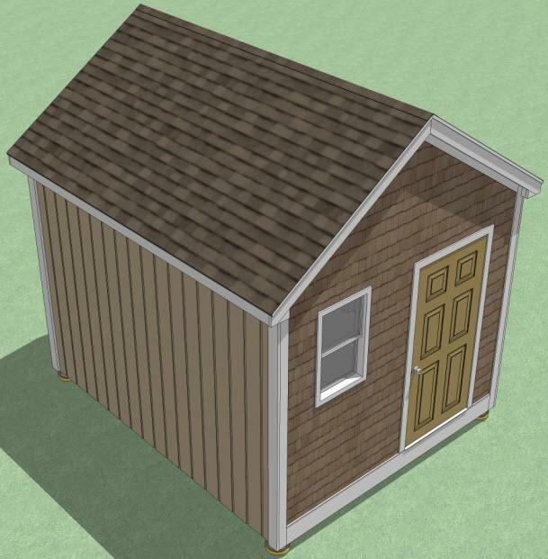 10x12 shed plans how to build guide step by step for Utility storage shed