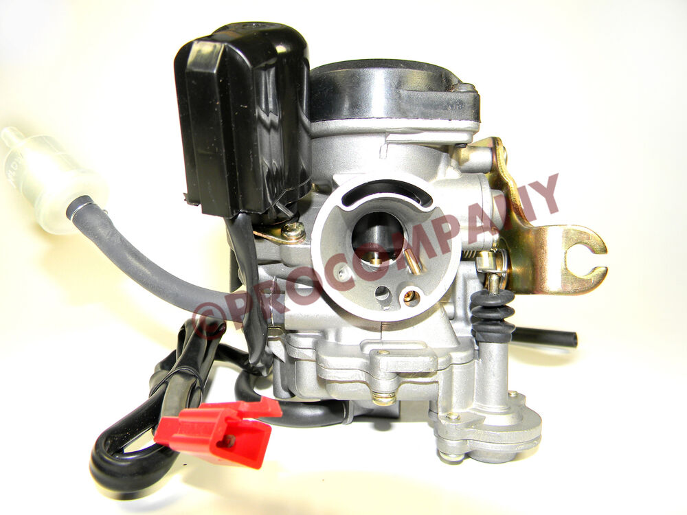 Moped Carburetor Parts : Scooter carb cc chinese gy qmb moped used
