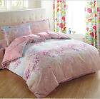 New 100% Cotton Bed Pillowcase Quilt Duvet Cover Set Or Flat Sheet All Sizes