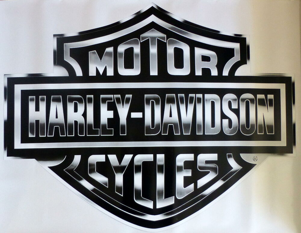 Harley Davidson Silver Bar Amp Shield Extra Large Trailer