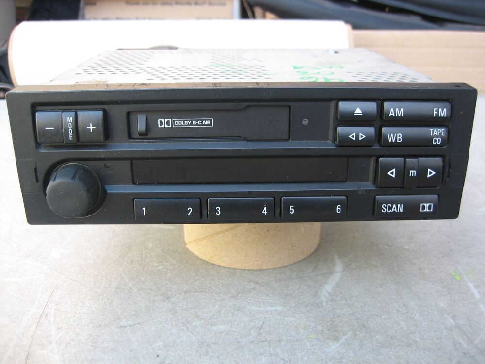 Bmw Z3 In Dash Cassette Player W Cd Controll Capability