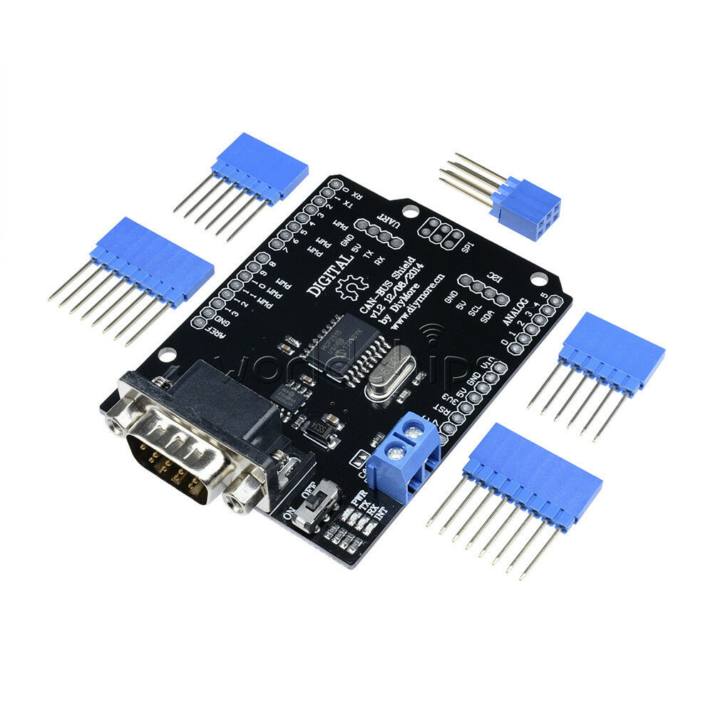Mcp ef can bus shield arduino communication speed