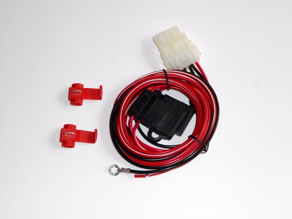 Truck Cap Wiring Harness For Third Brake Light And 12 Volt Dome Light C90 907 Ebay