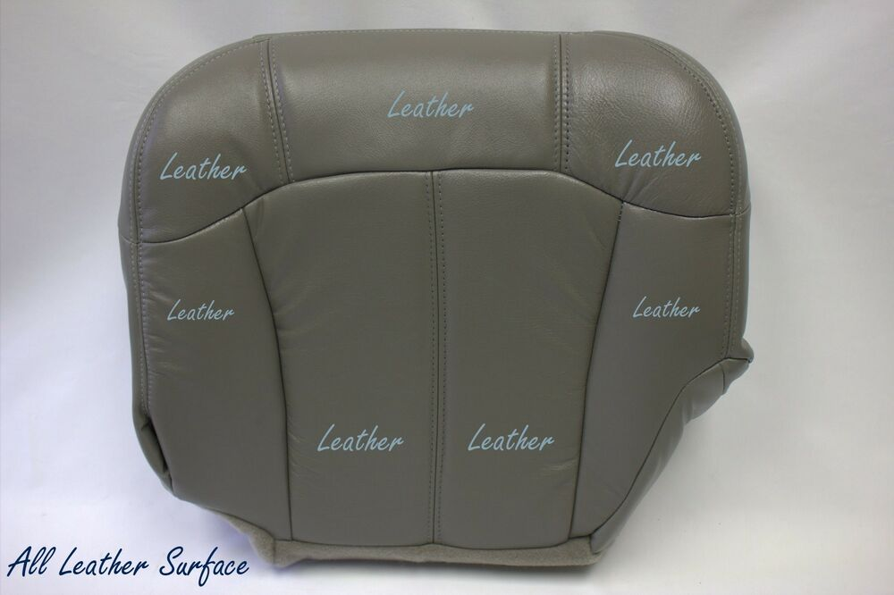 2005 chevy suburban driver bottom leather seat cover