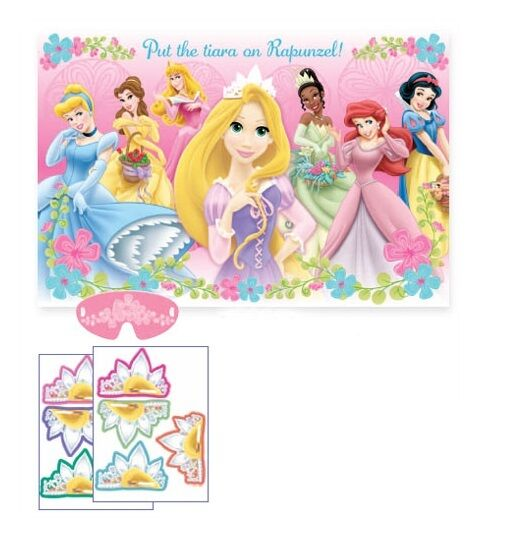 Disney Princess Birthday Party Game Place The Tiara On