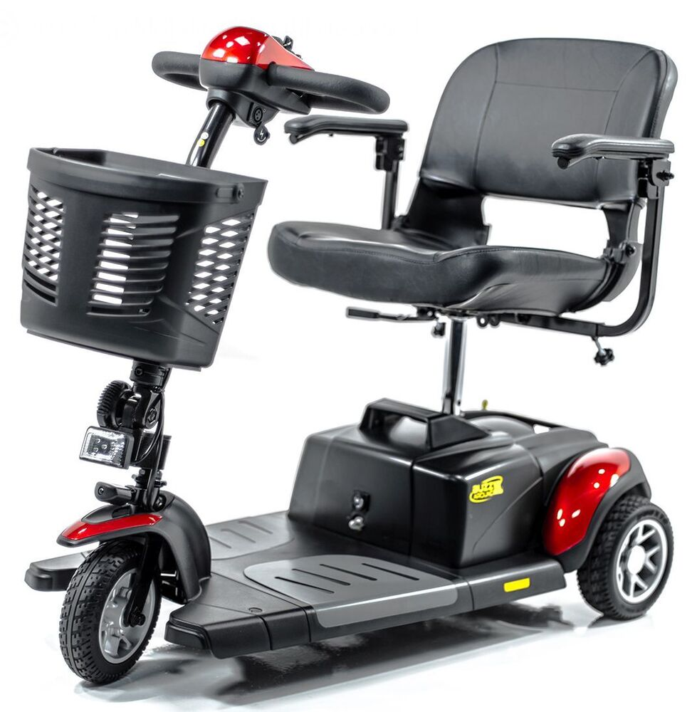 buzzaround xl 3 wheel electric mobility scooter golden. Black Bedroom Furniture Sets. Home Design Ideas