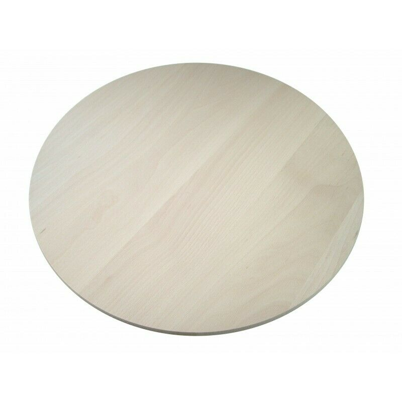 Round Circular Wooden Chopping Board With Handle Cutting