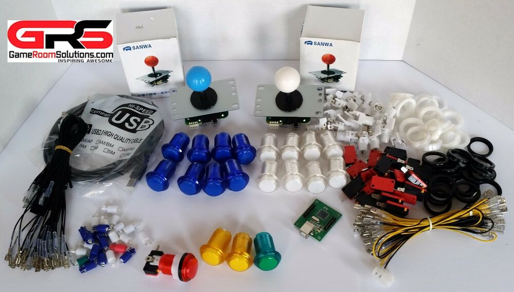 arcade sanwa control kit compatible with raspberry pi 3 special
