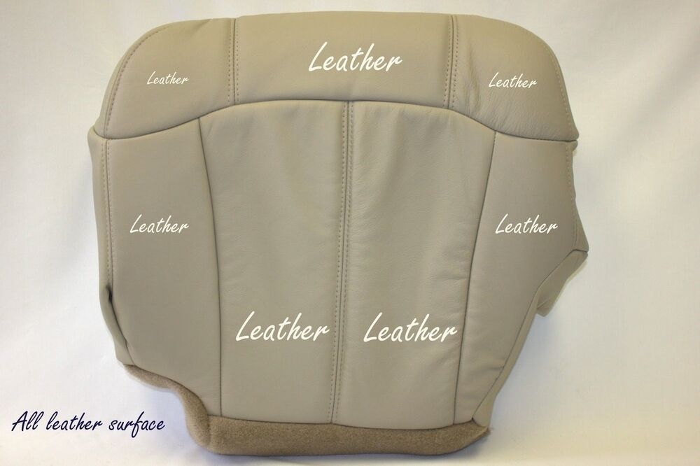 Gm Replacement Seat Covers : Chevy tahoe lt z driver bottom replacement leather