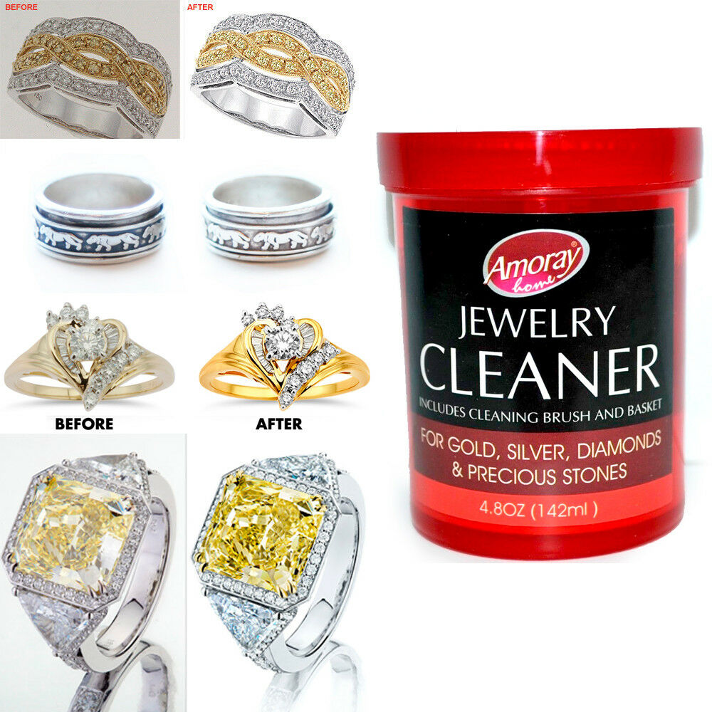 Jewelry Cleaner Solution Safely Clean All Jewelry Gold