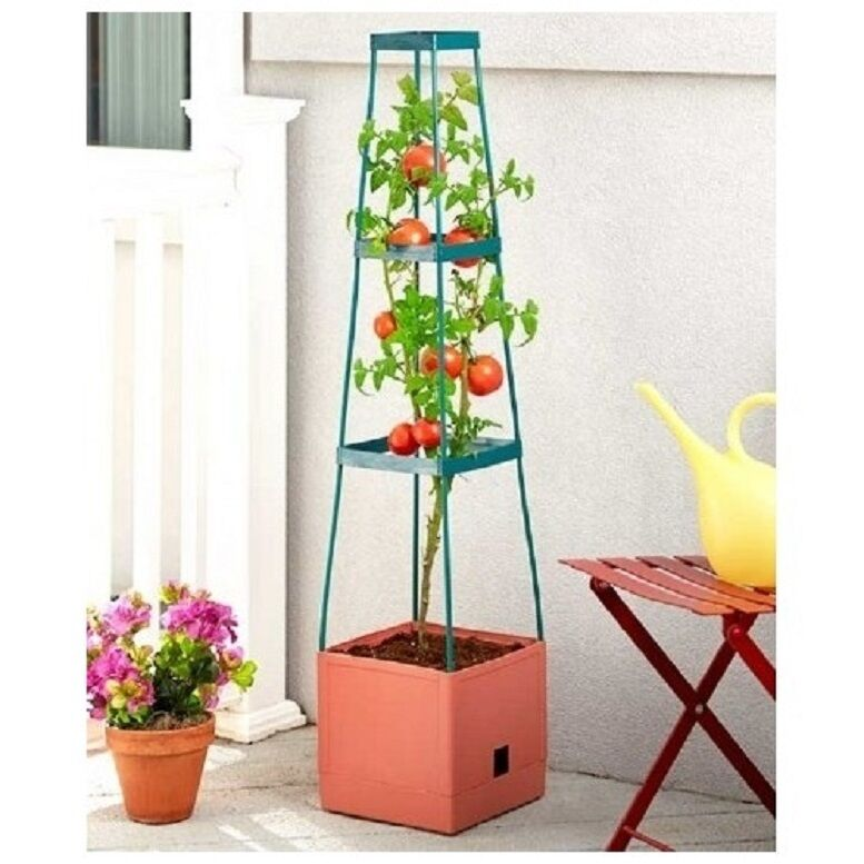 Tomato Planter Or Grow Tower Planter W Water Well For