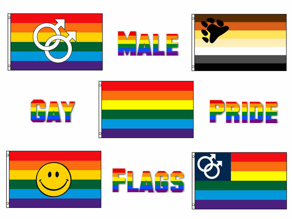 3x5 Wholesale Lot Male Bear Gay Pride Set Flags Flag 3x5