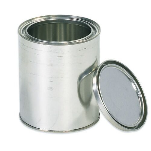 Empty 1 Quart Paint Can With Lid New Ebay