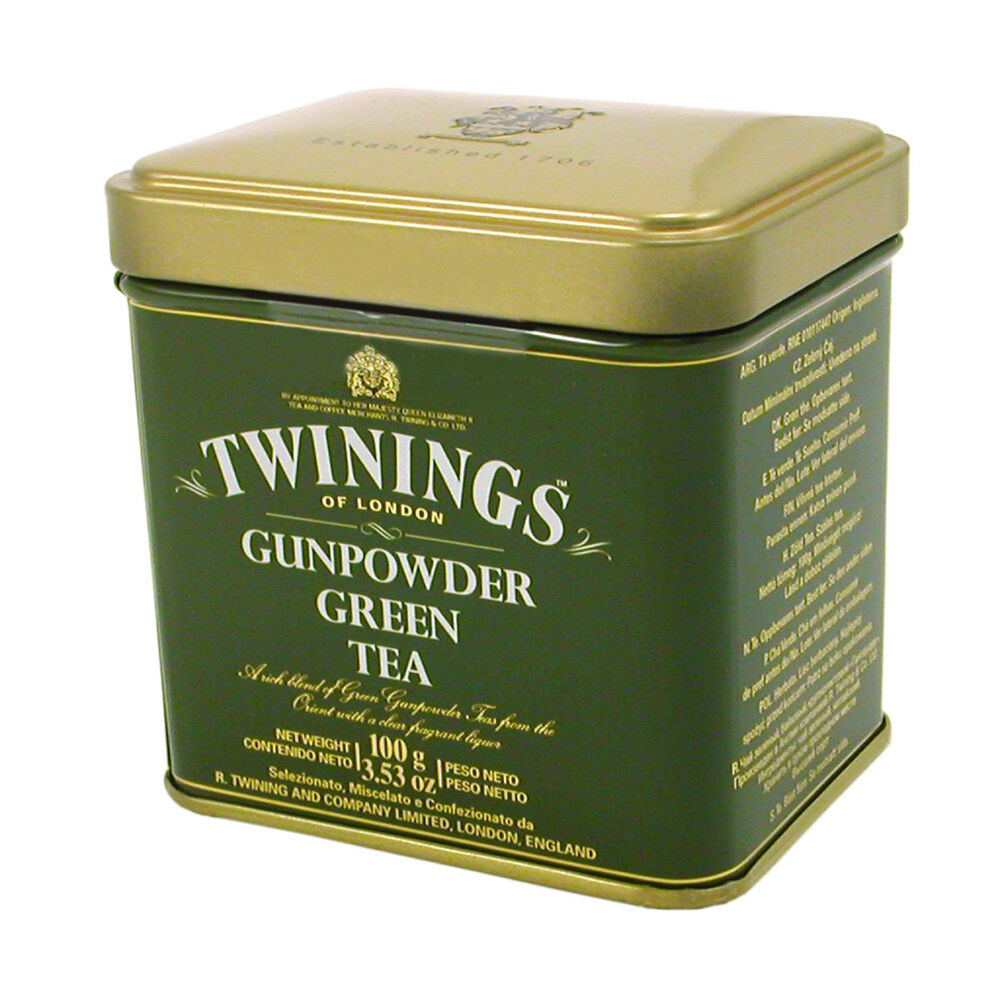 Twinings Gunpowder Green Loose Tea Tin 3 53 Oz 100g