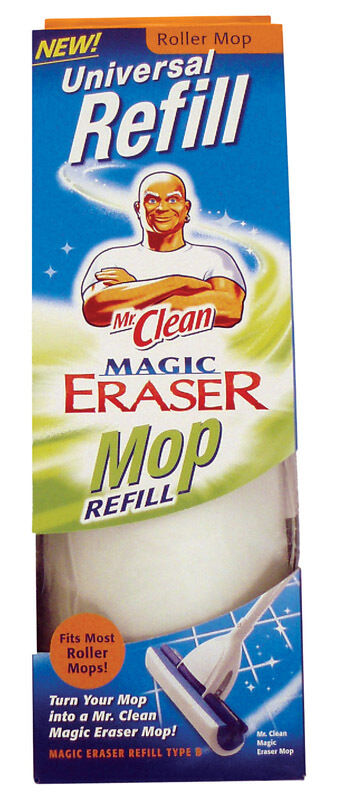 Mr Clean Magic Eraser Roller Mop Refill Ebay