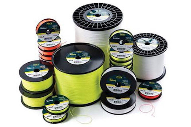 New rio dacron fly line backing 20 or 30 lb 100 to 5000 yd for Dacron fishing line