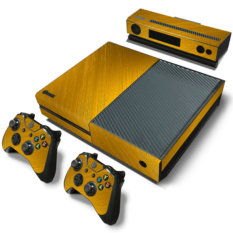 Microsoft Xbox One Skin (XB1) - NEW - GOLD CHROME MIRROR ... |Gold Xbox One Controller Skin