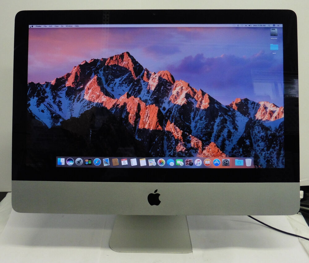 apple late 2009 imac a1311 21 5 core 2 duo 4gb. Black Bedroom Furniture Sets. Home Design Ideas