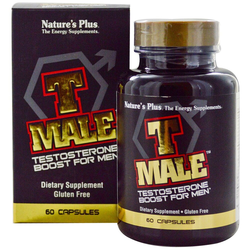 T-Male by Nature's Plus Testosterone Energy Libido 60 cap eBay