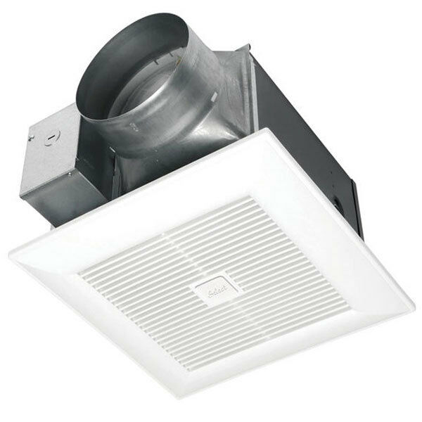 Panasonic WhisperGreen Select - 150 CFM - Bathroom Exhaust Fan - Ceiling Moun...