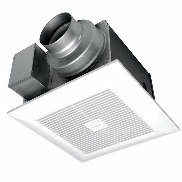 Ceiling Exhaust Fan Light Mount Bathroom Ventilation Bath: Panasonic WhisperGreen Select