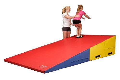 Large Incline Wedge Mat Folding Slope Cheese Gymnastics